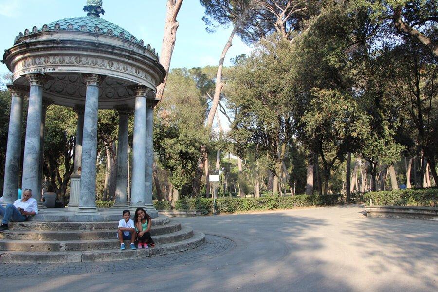 The Benitez Euro Adventures 2017 Part 1 – Italy (Rome, Assisi, Tivoli) The Gardens at Villa Borghese