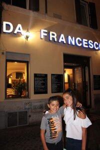 The Benitez Euro Adventures 2017 Part 1 – Italy (Rome, Assisi, Tivoli) Da Francesco