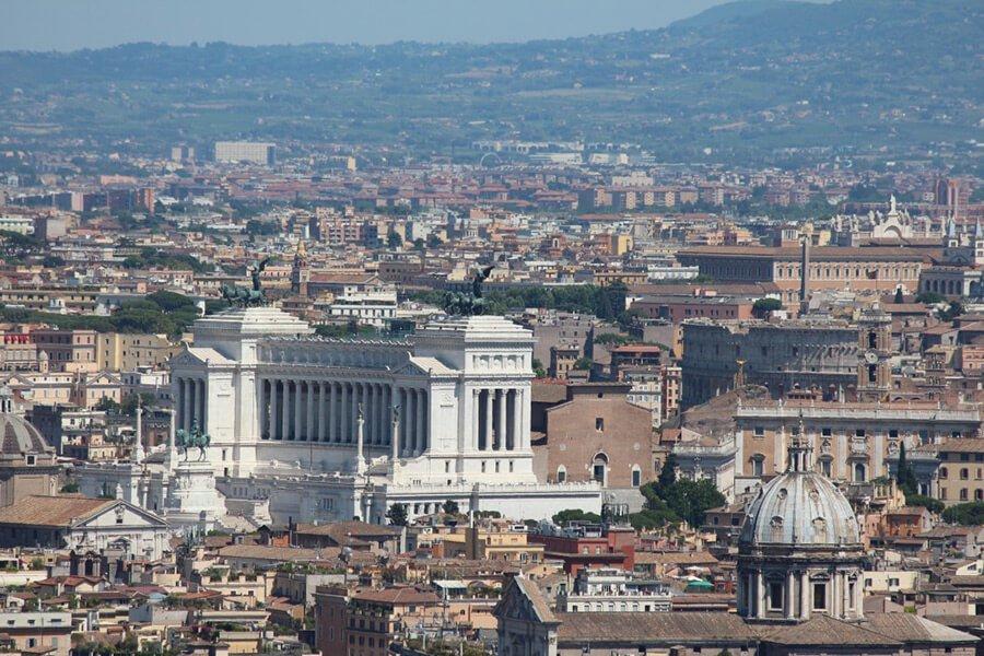 The Benitez Euro Adventures 2017 Part 1 – Italy (Rome, Assisi, Tivoli) View St. Peters Dome