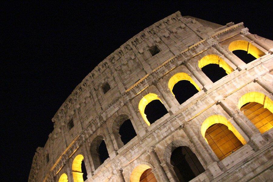 The Benitez Euro Adventures 2017 Part 1 – Italy (Rome, Assisi, Tivoli) The Colosseum at Night
