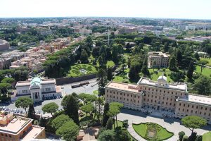 The Benitez Euro Adventures 2017 Part 1 – Italy (Rome, Assisi, Tivoli) Views from St. Peters Dome
