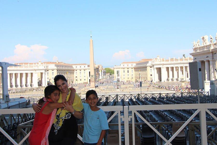 The Benitez Euro Adventures 2017 Part 1 – Italy (Rome, Assisi, Tivoli) Overlooking The Vatican Plaza