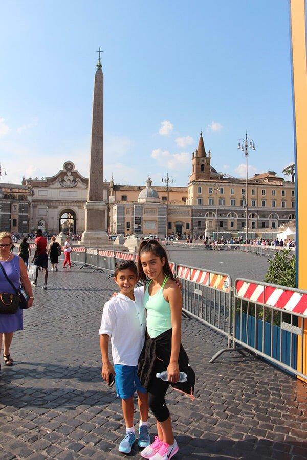 The Benitez Euro Adventures 2017 Part 1 – Italy (Rome, Assisi, Tivoli) Piazza del Popolo