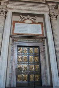 The Benitez Euro Adventures 2017 Part 1 – Italy (Rome, Assisi, Tivoli) The Holy Door at the Vatican