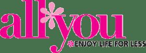 All You - Enjoy Life for Less Magazine Logo