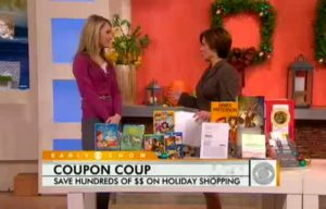 The Krazy Coupon Lady on The Early Show