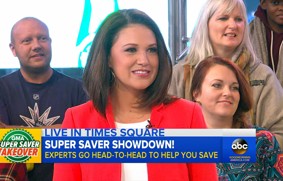 The Krazy Coupon Lady on Good Morning America