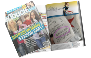 The Krazy Coupon Lady in a InTouch Magazine Article