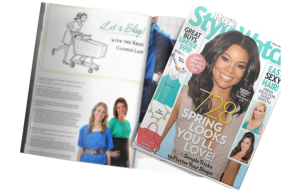 The Krazy Coupon Lady in a StyleWatch Magazine Article