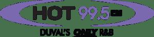 Hot 99.5 FM Radio Station Logo
