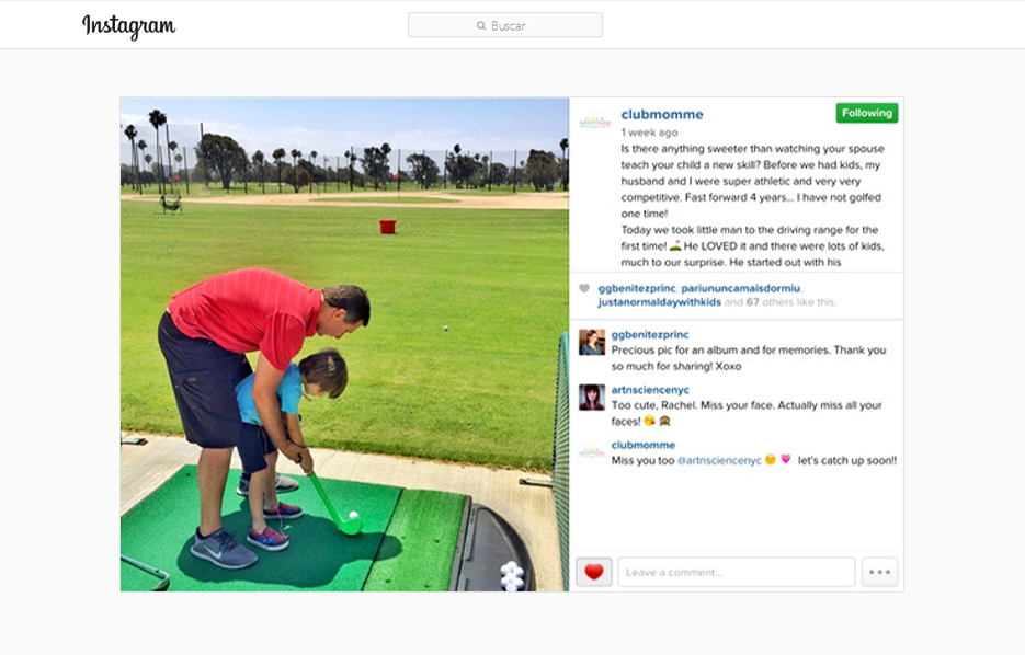 Stride Ride Products in a Club Momme Instagram Post