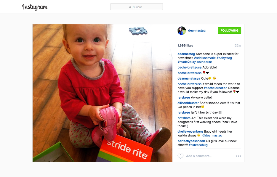 Stride Ride Products in a DeAnna Stagliano Instagram Post