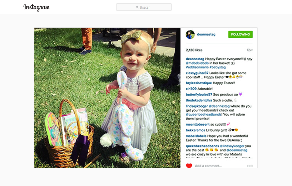 Stride Ride and Mabel's Labels Products in a DeAnna Stagliano Instagram Post