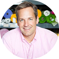 Carousel Designs company's CEO Jonathan Hartley