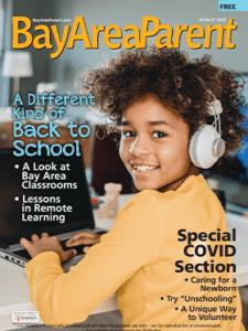 August 2020 Bay Area Parent Magazine Cover