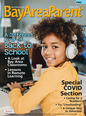 August 2020 Bay Area Parent Magazine Cover