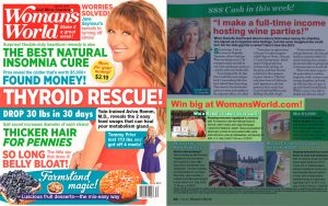 Mabel´s Labels Rectangle Labels Prize Pack in a Woman´s World Magazine Article