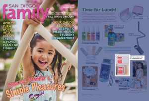 Mabel´s Labels Kid's Medical Alert Labels in San Diego Family Magazine Article