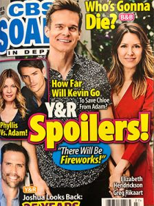 July 2019 CBS Soaps in Depth Magazine Cover