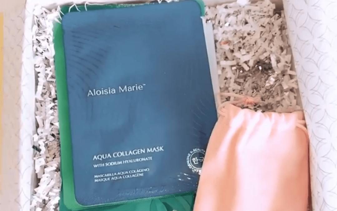 Jesyka Harris Mentioning Aloisia Beauty in her instagram Stories