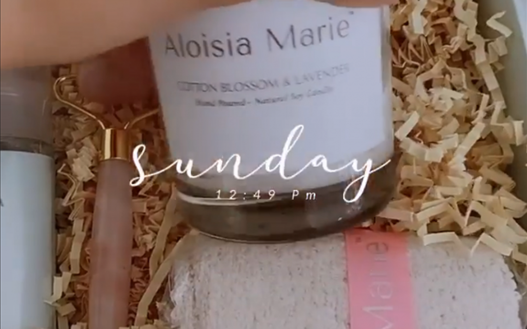 Leyla Milani Mentioning Aloisia Beauty in her instagram Stories