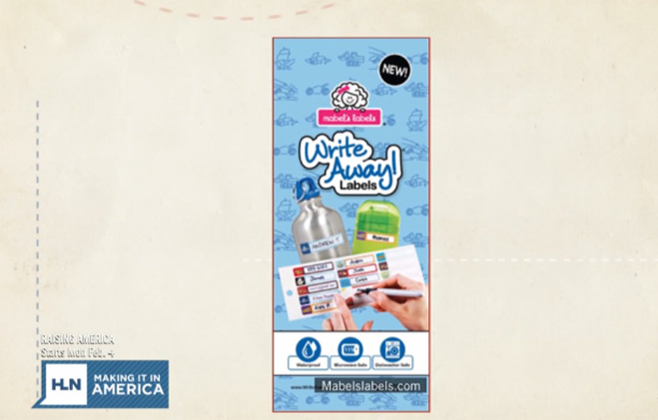 Mabel's labels products in HLN