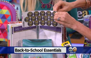 Mabel's labels products in KCAL9 News