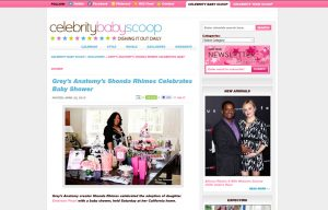 Mabel's labels products in a Celebrity Baby Scoop Blog Article