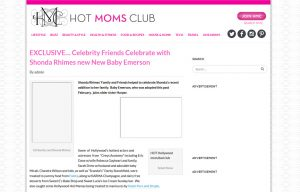Mabel's labels products in a Hot Moms Club Blog Article