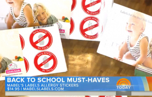 Mabel's labels products in The Today Show