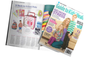 Mabel's labels products in a USA Today Magazine Article