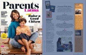Change Agents Daniella and Gabriel Benitez in a Parents Latina Magazine Article
