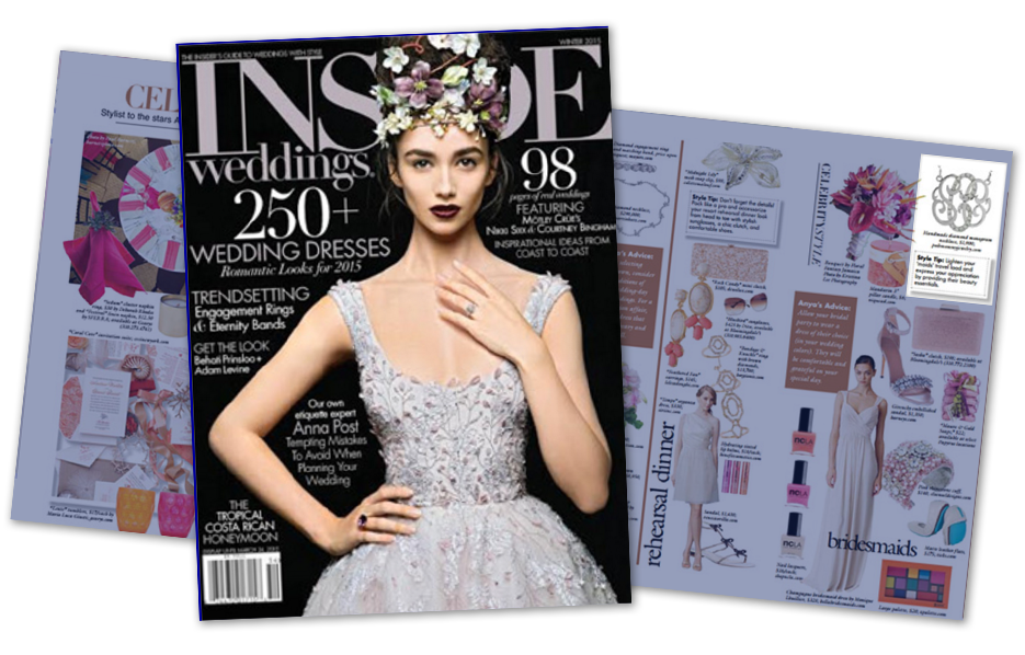 Posh Mommy products in a Inside Magazine Article