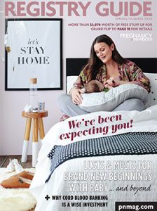 Spring and Summer 2020 Pregnancy and Newborn Magazine Cover