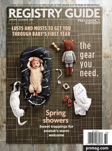 Spring / Summer 2019 Registry Guide Magazine Cover