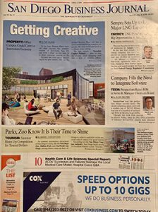 May 2019 San Diego Business Journal Cover