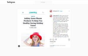 Ashely Yaubra Instagram Post