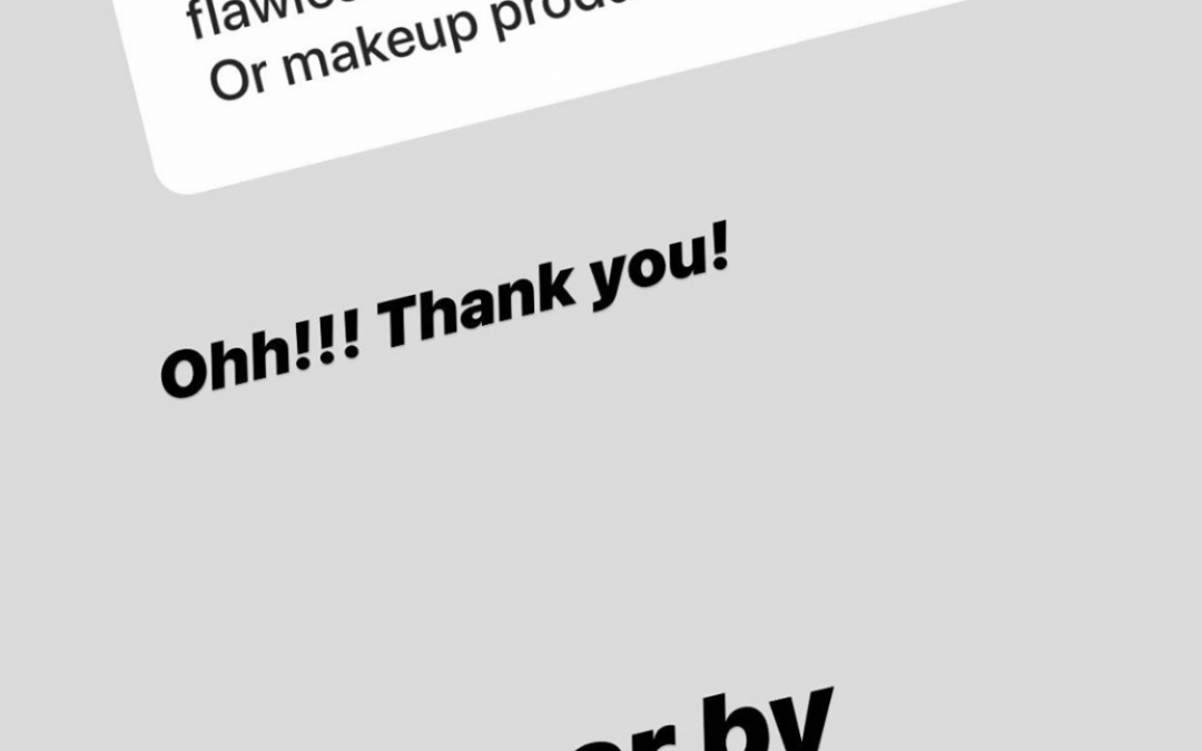 DeAnna Stagliano mentioning Aloisa Beauty in her Instagram Stories