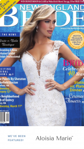 May 2020 New England Bride Magazine Cover