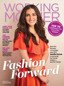 May 2020 Working Mother Magazine Cover