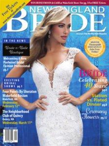 January 2020 New England Bride Magazine Cover
