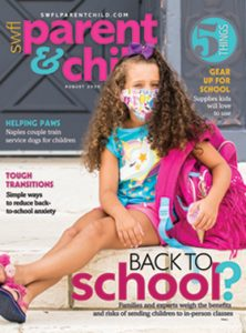 August 2020 Swfl Parents and Child Magazine Cover